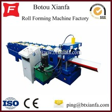 Color Steel Sheet And Galvanized Steel Sheet Roof Panel Type Ridge Cap Forming Machine