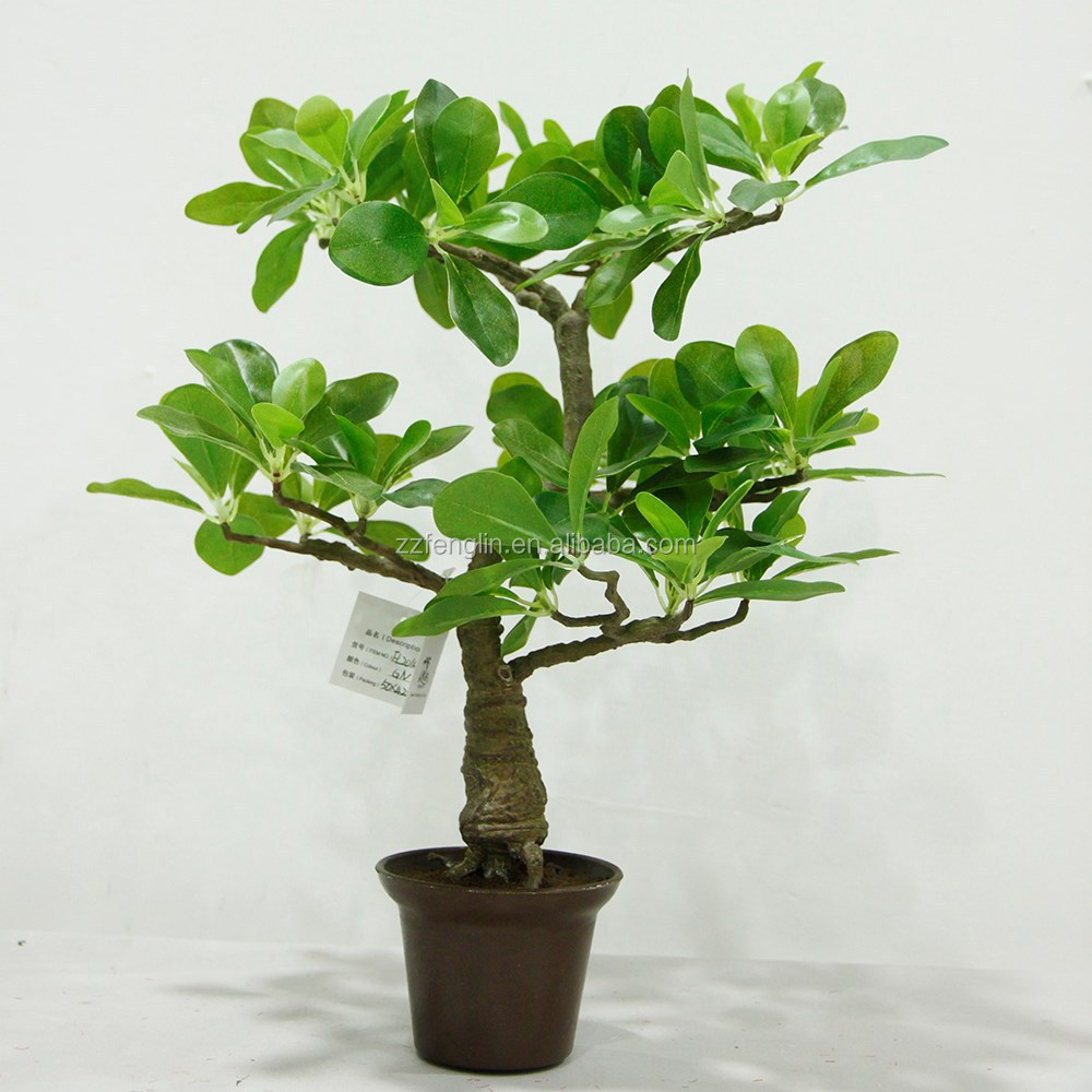 High cm mini artificial plant bonsai fake money tree