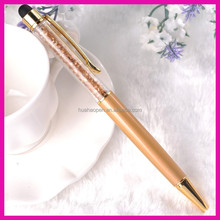 High quality and multi-function crystal ballpoint pen wholesale favorites crystal ball pen crystal stylus pen with logo