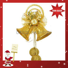 Latest Design Dazzling Christmas Decoration,Dazzling Christmas Bell Decoration For Party,Christmas Picks Gold Bell