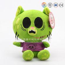 Super cute OEM customized production stuffed plush cat