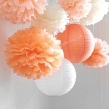 Decoration paper party pom pom