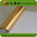 armario de la cocina cubierta de aluminio rollo de lámina de papel de aluminio de oro