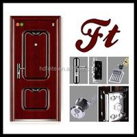china new model best price cheapest french door security locks exterior steel door high quality steel security doors