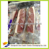 Custom design clear packaging of meat