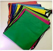 2015 promotional gift pouch with drawstring