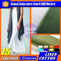 High Quality new popular style Linen cotton fabric second hand clothing uk