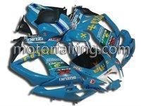 suzuki body kits/Motorcycle fairing/motorcycle body work/fairing kit for GSXR 600/750 2006-2007 blue