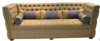 Italy Royal Gold Color Lounge Sofa Set Living Room Furniture