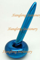 MF002 Magnetic floating pen can make your Logo 50pcs/lot for promotion and gift color:bright blue