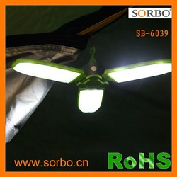 Solar energy camping light products with solar panel