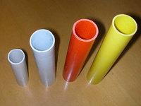 fibreglass tube