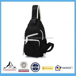 2015 Recycling Triangle Sling Bag,Waterproof Sling Bag for Unisex, Suite for Wholesale or Retail