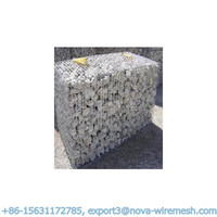 Less transport freight welded gabions ( It can be folded together for transport and further installation)