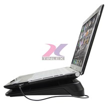 Notebook laptop cooling stand with 4 ports USB