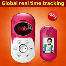 Quality mobile phone children; real time tracking kid cell phone, built-in personal gps tracking system phone tracker