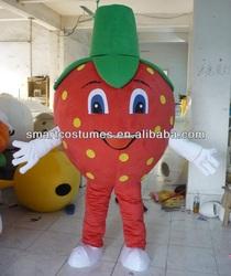 super lightweight adult strawberry mascot costume fruit