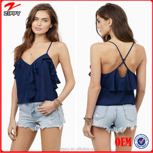 Latest Colthing Fashion Women Crop Top