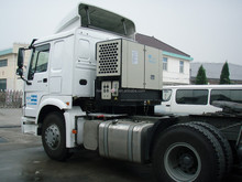 truck mount generator set for refrigerated container