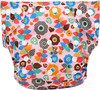 Ohbabyka reusable bamboo fleece cloth diaper trifold foldable cloth diaper