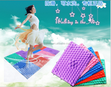2015 NEW Foot Massage running man TPE shiatsu sheet for foot fitness