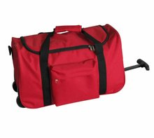 Hot Selling new Design Polyester Sports Rolling Duffel Bag