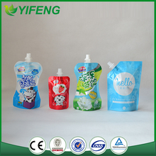 Hot Sale Top Quality Best Price Chinese Manufacturer Printed Juice Spout Pouch