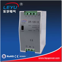 CE ROHS DR-120-24v power supply 120w 12v 24v 48v ac/dc din rail switching power supply
