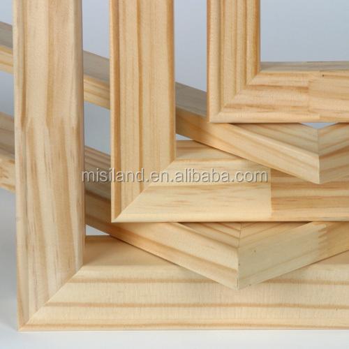 Wooden Canvas Frame /stretched Canvas Bar / Diy Stretcher Bar Kit ...