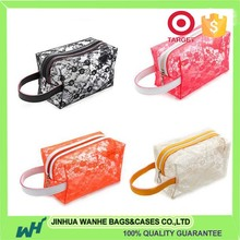 Professional cosmetic bag polka dot with high quality