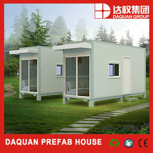 Promotion! DAQUAN projects of houses of sea containers , prebuilt ready made container house