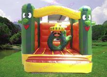 jumping castle/ blue bouncy castle art panels for inflatables for sale /inflatable castle /inflatable bouncer