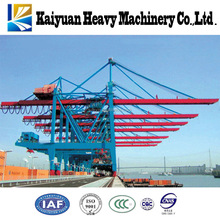 A high efficiency heavy duty shore crane that used at seaport to handle the containers