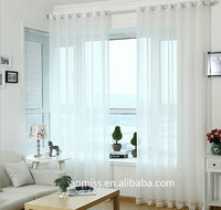 2015 Hot Sale good quality cheap price hotel and home sheer curtain
