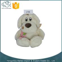 Customized oem plush dog toy/stuffed animal