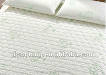quilted waterproof mattress protector (cotton/polyester)