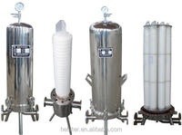 manufacturing stainless steel cartridge filter for liquid cleaning