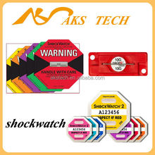 Shockwatch Impact Indicator Clips And Tubes