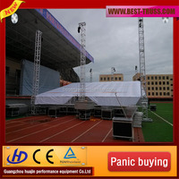 Best price high quality stage equipment outdoor concert stage design supplier