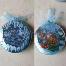 Exquisite 4D Christmas bauble ornament best sale in Russia market