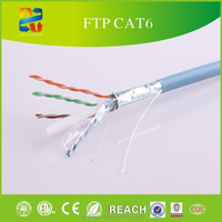 CAT6 CABLE 1000FT FTP SOLID NETWORK ETHERNET CABLE BULK WIRE 550MHz 23 AWG LAN BLUE d-link lan cable cat6