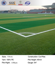 Y70145 outdoor soccer artificial grass turf, sports field grass artificial, turf grass for football field