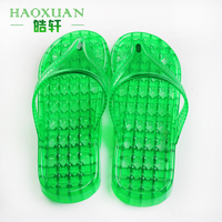 PVC massage slipper both for woman and man flip flop slipper
