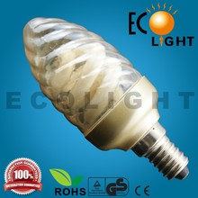 New Design Series Candle Flame Energy Saving Bulb spiral energy saving light