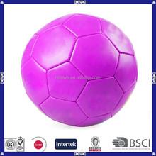 china pink bulk cheap 5# TPU soccer ball