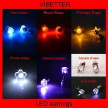 LED flashing jewelry,LED novelty earring,LED lighting jewelry manufacturer