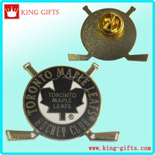 imitation hard badge with toronto maple leafs hochey club