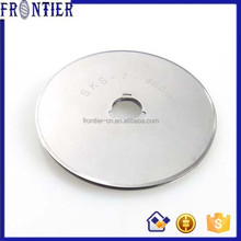 60mm circular rotary cutter blade for cutting fabric
