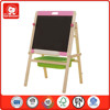 2015 Top Bright Hot Item wooden toys different colors wooden blackboard and whiteboard magent for kids