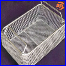 stainless steel wire mesh round basket